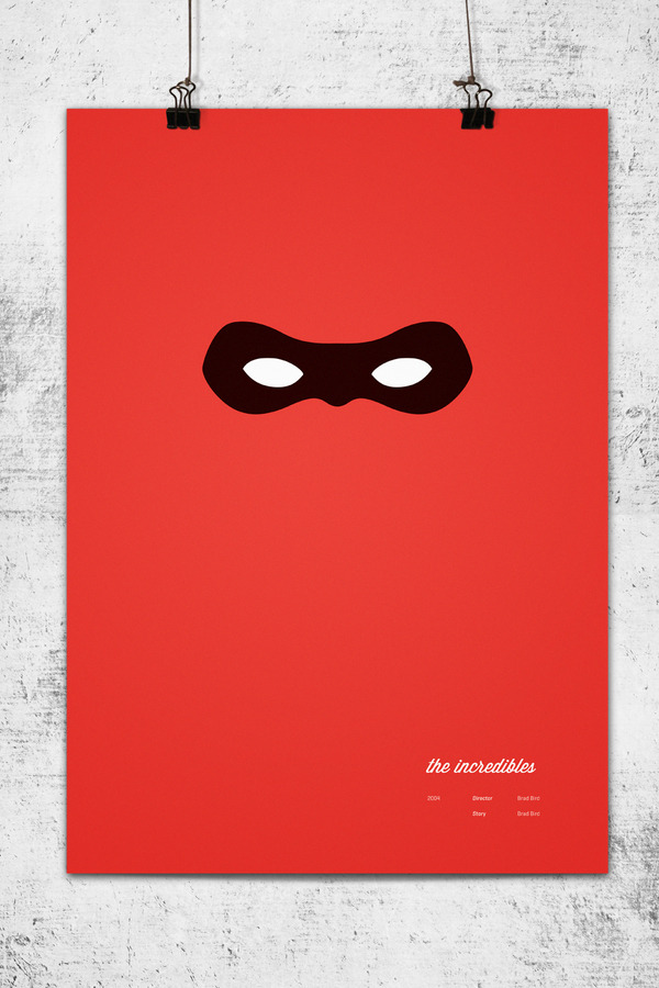 Minimalist Movie Posters - The Incredibles