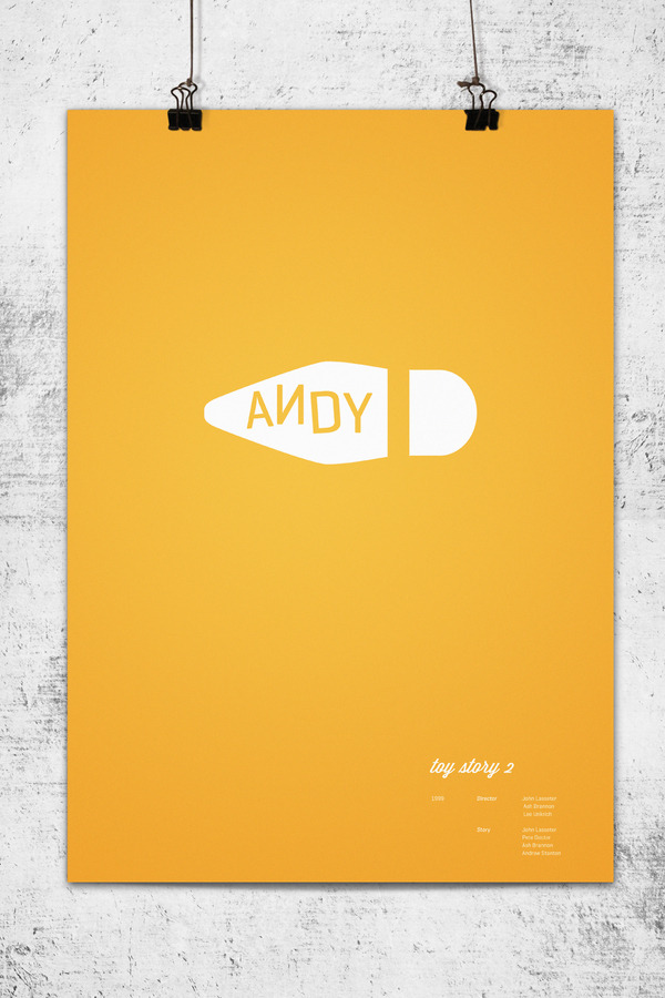 Minimalist Movie Posters - Toy Story 2