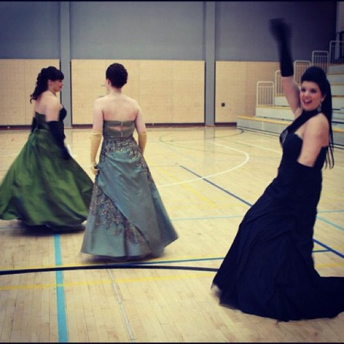 #dress#gown#finland#finnish#prom#ball#ballroom#beautiful#love#fun#happy#green#black (Taken with instagram)