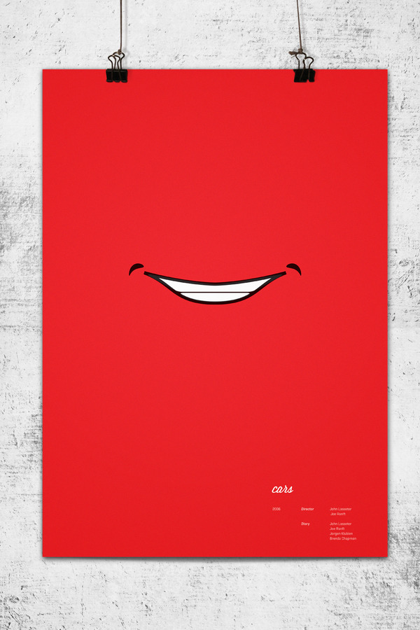 Minimalist Movie Posters - Cars