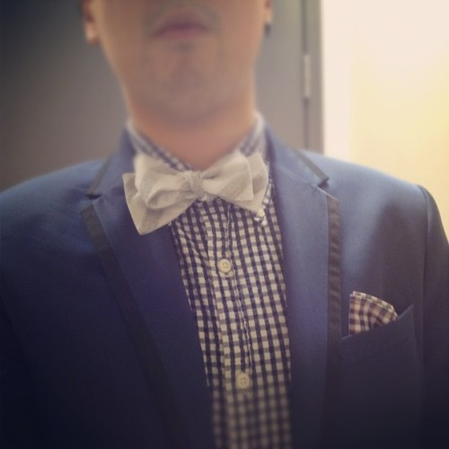 Patterns on the go. #fashion #menswear #wiwt #bowties (Taken with instagram)