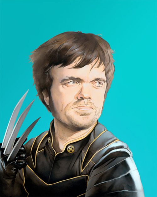 Fan art of the day: Peter Dinklage as Wolverine Brandon Bird