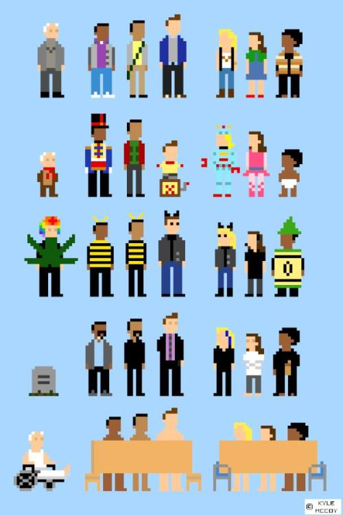 halffiction:  this is making me very hungry for Community 8-bit game.