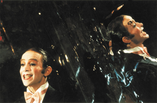 "Cabaret was the only major film of the period to consider the flip side of political awareness, detailing the allure of decadence and self-indulgence, and the abnegation of social and political responsibility in the face of looming catastrophe, a denial which nonetheless becomes an upbeat philosophy in the film's crowning metaphor: ""Life is a cabaret."""