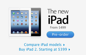 Again, simple The new iPad