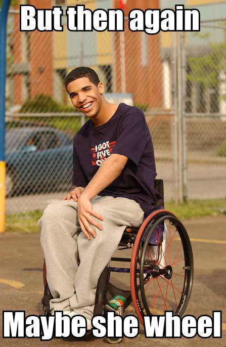 Drizzy so gangsta….