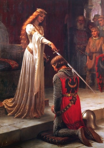 Accolade (noun): a ceremonial embrace a ceremony or salute conferring knighthood a mark of acknowledgment; award an expression of praise brace or a line used in music to join two or more staffs carrying simultaneous parts