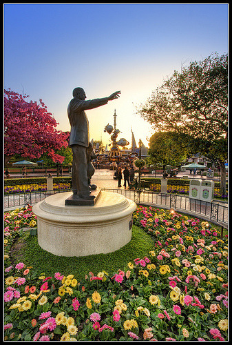 Partners at Dawn - One More Disney Disney Day #2 - Disneyland (by Gregg L Cooper)
