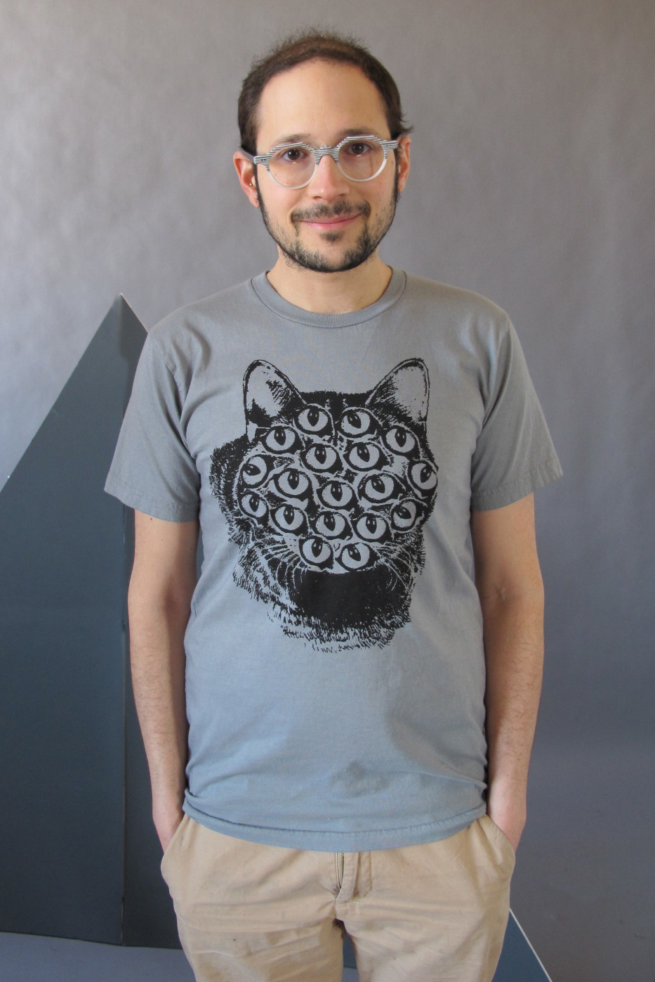 gray mutant cat tee! http://www.etsy.com/shop/PrettySnake