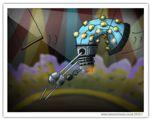 Day 149: Dalek Trapeze. Ladies and Gentleman, children of all ages, the Daleks are about to begin…..