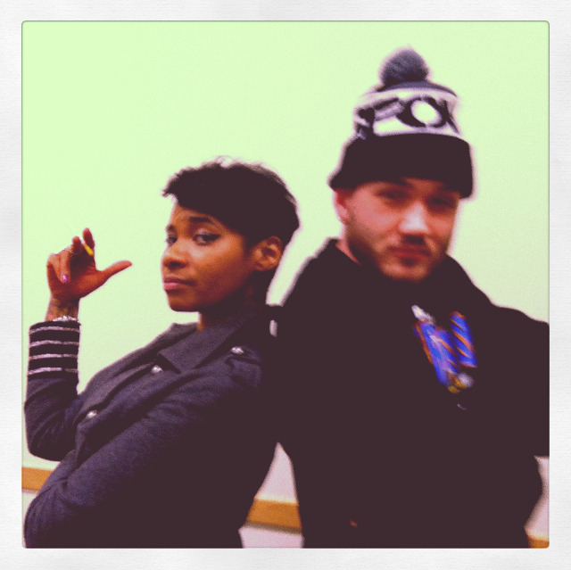 @Beedie412 and @JeanGreasy at CMU in Pittsburgh