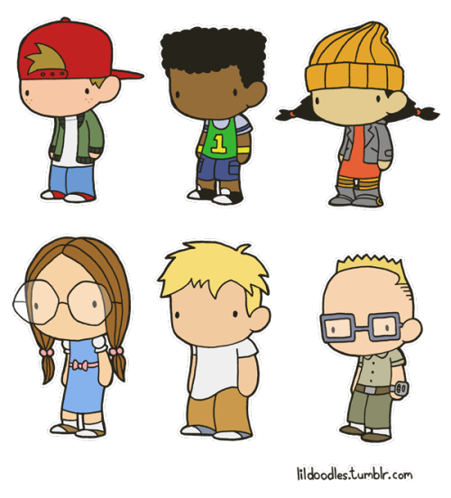 Adorable Recess fan art.