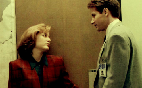 Don't you have a life, Scully?Keep it up, Mulder, and I'll hurt you like that beast woman.