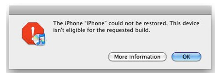 If you are having issues updating to iOS 5.1, and getting error messages in iTunes about your device not being eligible, there is a quick fix at http://www.iphonejailbreak.me/fix-this-device-isnt-eligible-for-the-requested-build-in-itunes-during-ios-5-0-1-update/ . I haven't modified my phone in any way and Apple's support page is no help (as usual).