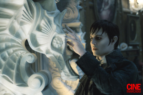 Johnny Depp as Barnabas Collins in Tim Burton's #DarkShadows (coming May 11, 2012)