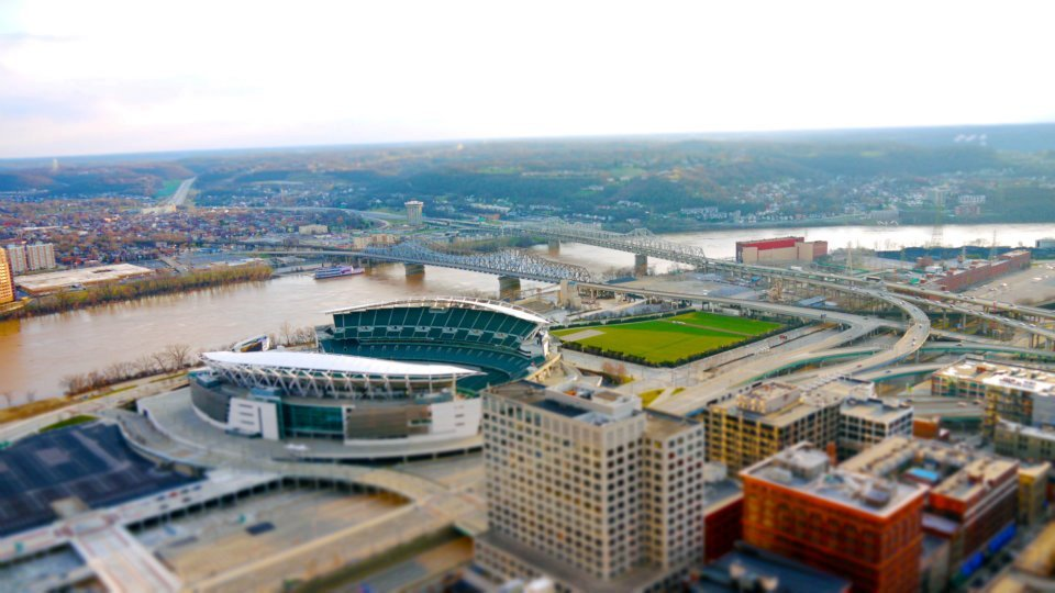 Tilt Shift Cincinnati via the OTR blog:  Videos at the link…