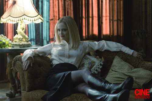 Eva Green as Angelique the witch in Tim Burton's #DarkShadows