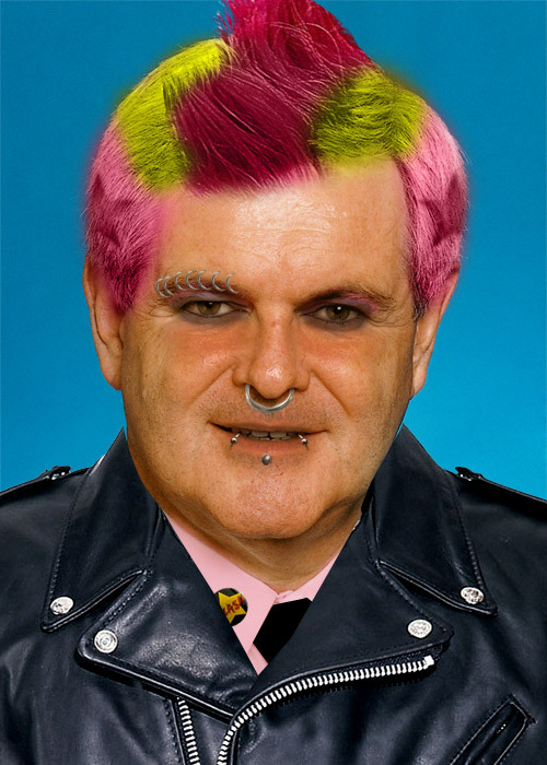 Punk Rock Newt Gingrich