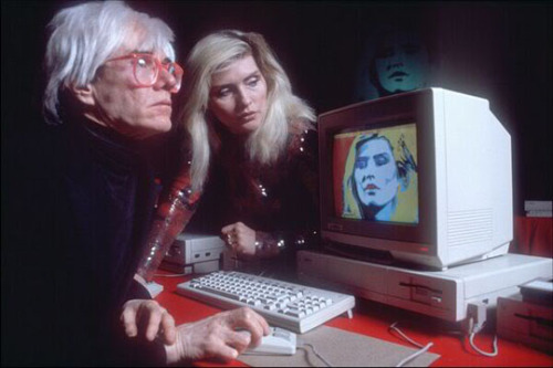 Warhol loved tumblr.  WOW! Goodbye
