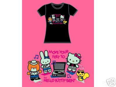 move your feet to the hello kitty beat!