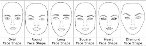 Ooh great example of what brow shapes flatter different faces!