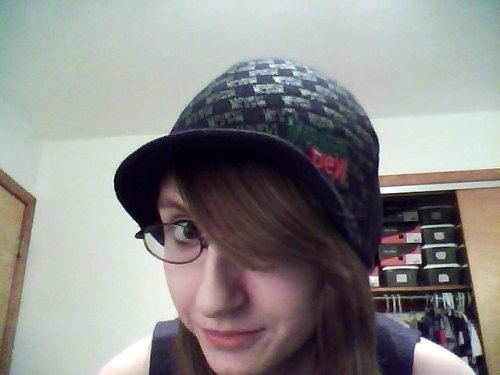 I'm showing you my hat because I love this hat because it is a Mountain Dew hat it is the only hat I will ever trust because I hate hats did you know that no you didn't know that about myself hats are awful creatures I really do hate them but not his hat I love this hat.