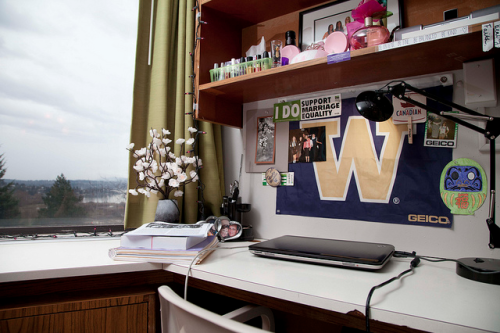 fuckyeahcooldormrooms:  University of Washington  my love :C