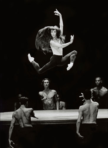 Sylvie Guillem in Bolero 1997 in Lausanne, choreographed by Maurice Bejart- Photo credit Philippe Pache