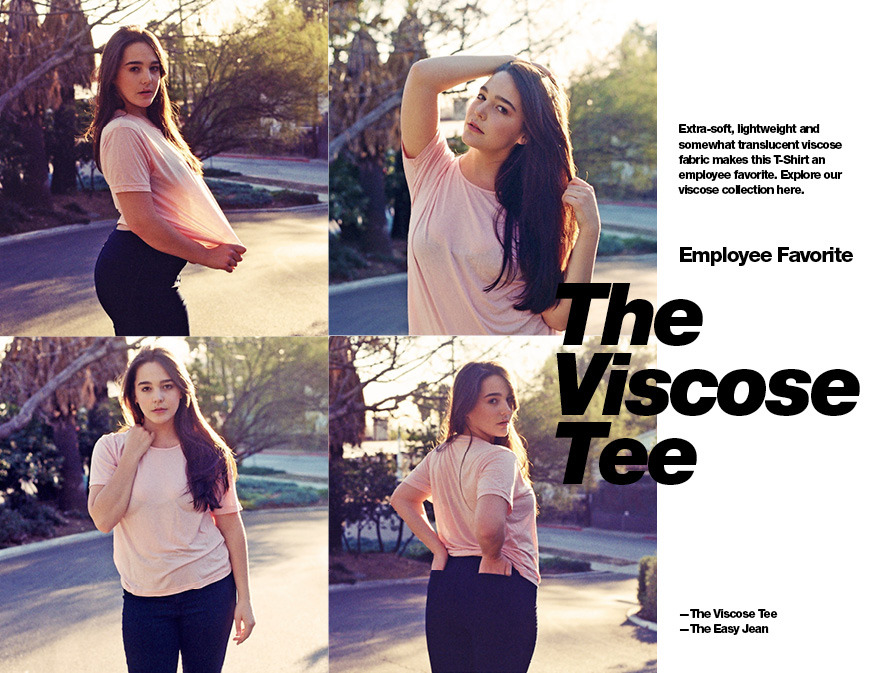 American Apparel ad on their homepage right now  Heather Hazzan - plus size model