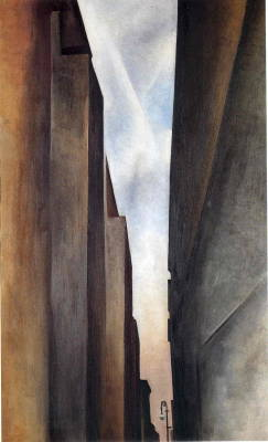 Georgia O'Keeffe - Street of New York II, 1926