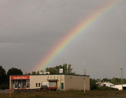 I Knew It! There's Always Beer At The End Of The Rainbow!