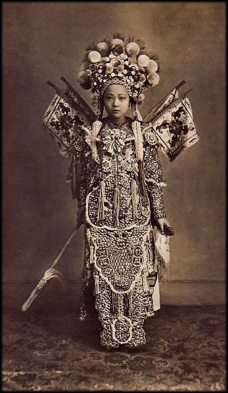 sombhatt:  Cholon Actress, Saigon, French Cochinchina [c1900's]