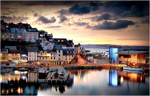 Brixham, England (by AJ Scapes)