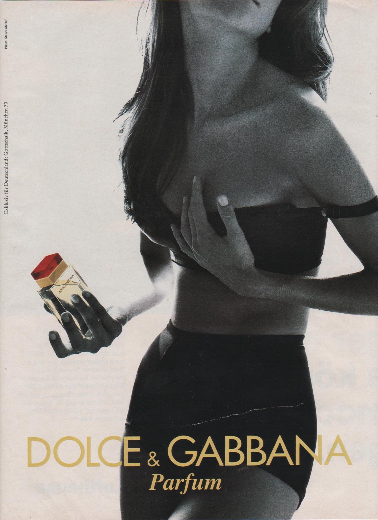 magnificentmodels:  Shana for Dolce & Gabbana