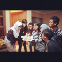 #surprise #bestfriend #didiqimiskansas #cake #love  (Taken with instagram)