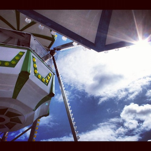 #carnival #Wheel #finland #love #shine #sun #spring (Taken with instagram)