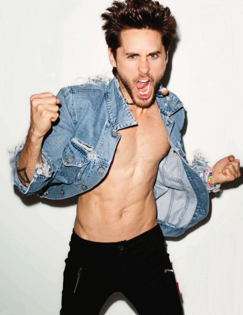 The 100 Sexiest Men Ever - 2012 ↓ 6. Jared Leto Last Year Position: 4.Dropped 2 places.