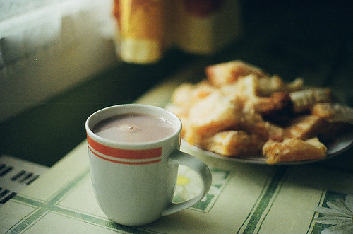 morningbouillon:  cocoa morning (by whimsical jane)