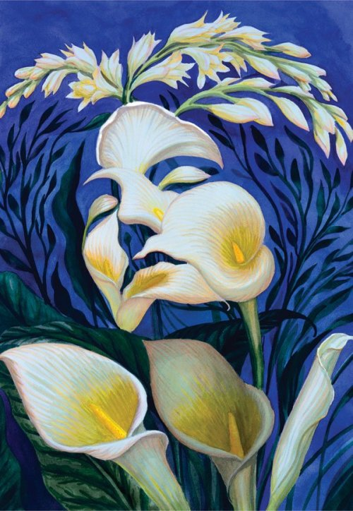 "Octavio Ocampo's ""Ecstacy of the Lilies"""
