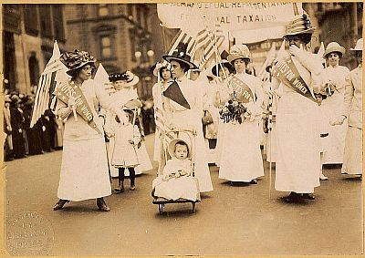 Today in labor history, March 8, 1908: 15,000 women workers in the needle trades take to the streets of New York City on the 51st anniversary of the 1857 protest by women garment workers. They demanded better working conditions, suffrage, and an end to child labor. March 8 has been celebrated as International Women's Day since 1910.
