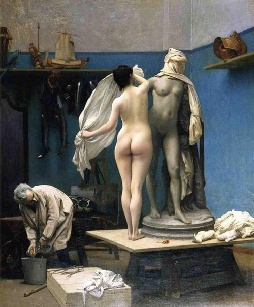 Jean Léon Gérôme The end of the Sitting
