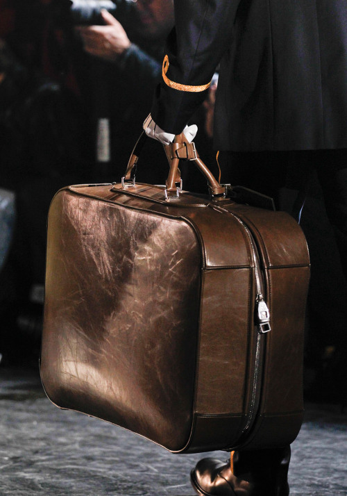 americanamanhasset:  A new collection of luggage with a vintage, worn-in feel at Louis Vuitton