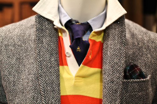 wellwornwornwell:  Brooks Brothers F/W 2012