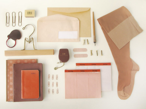 thingsorganizedneatly:  Arrangement by Kontor Kontur a Swedish design agency.