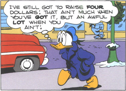"Wisdom from Carl Barks, ""A Christmas for Shacktown"""