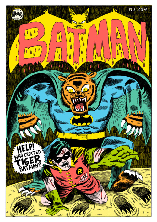 jackteagle:  My take on batman 209 made it onto the Covered blog: http://coveredblog.blogspot.com/2012/03/jack-teagle-covers-batman-209.html
