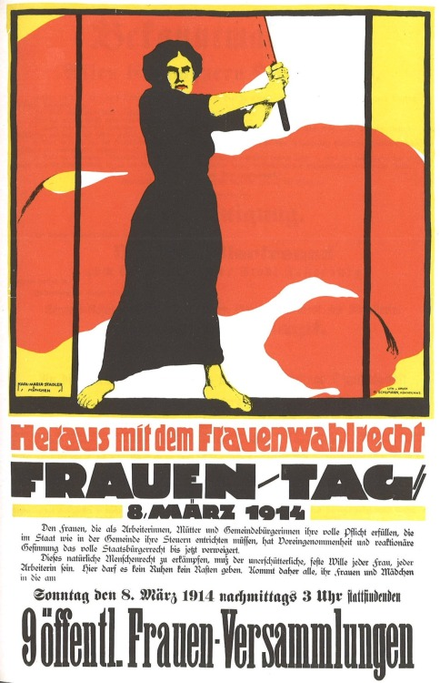 Poster: International Women's Day. 1914