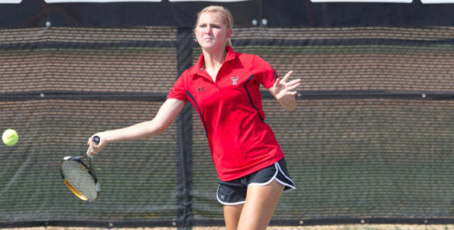No. 20 Lady Raiders tennis defeated Cal Poly yesterday 6-1 - TexasTech.com