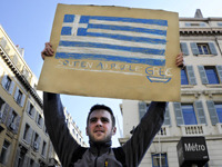 Why a Greek Debt Deal Won't End the Greek Saga For months, the situation in Greece has dominated European markets for days on end as a new deadline approaches. If the deal is passed, a temporary sigh of relief is likely from markets – but Greece will not move far from the markets' agenda.  Full Story  Photo:Anne-christine Poujoulat / AFP/Getty Images