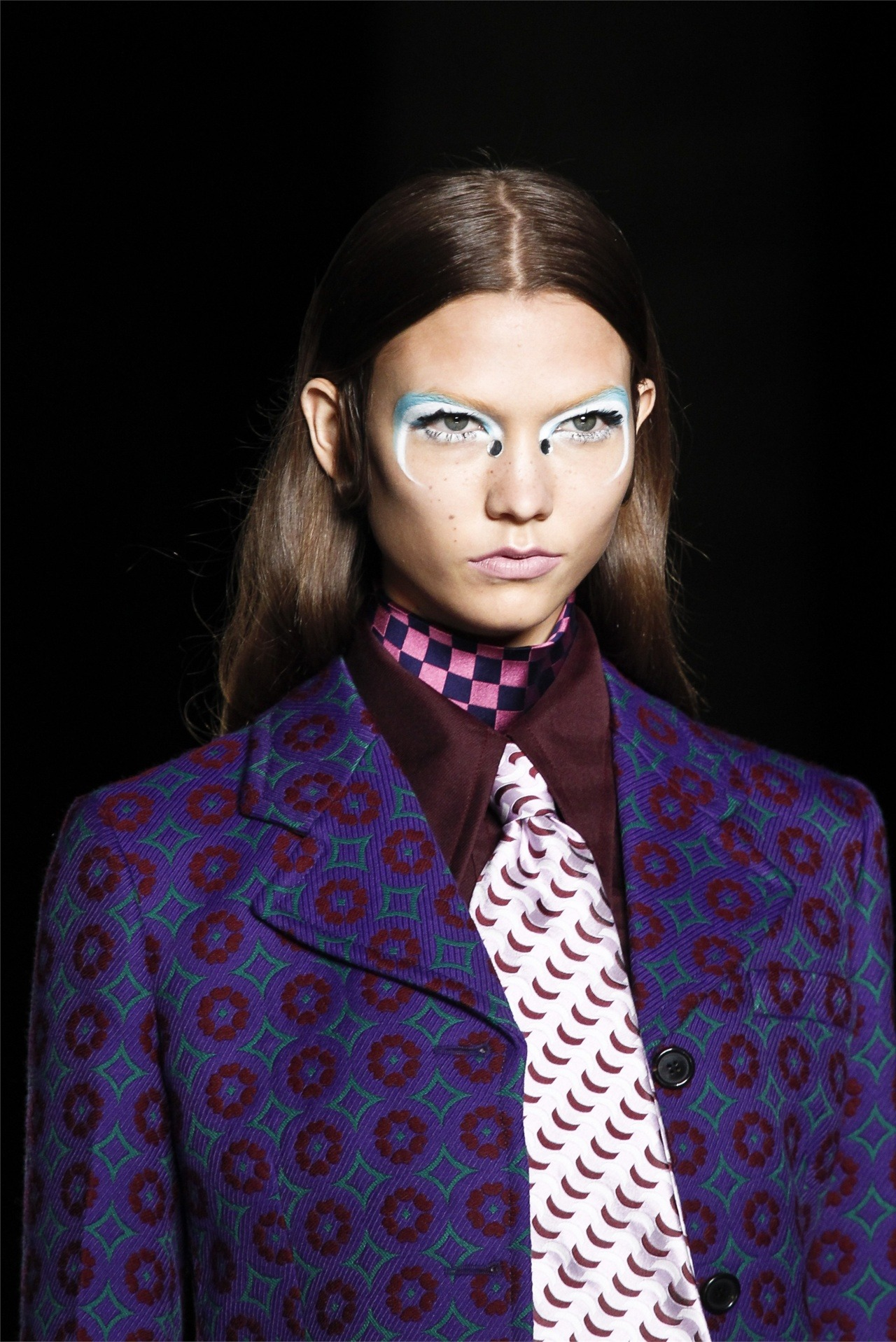 Details: Karlie Kloss in Miu Miu fw12. simply perfect.